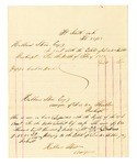 1878 February 28: Voucher, includes cost of bankruptcy payments; Hubbard Stone, assignee of D.A. McKibben
