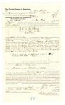 1878 June 6: Voucher, to John Stanton, of Fort Smith, Arkansas, for assisting John Tinker, U.S. deputy marshal, in U.S. v. One Spencer, U.S. v. Lewis Priday, U.S. v. John Harsens and others; Stephen Wheeler, commissioner; D.P. Upham, U.S. marshal