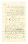 1878 April 10: Jury notes; F.W. Boas, Mathew Locke, and Samuel Walter, named as jury commissioners; lists directions for jury commissioners in picking upcoming jurors; Stephen Wheeler, clerk