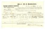 1878 April 12: Voucher, U.S. v. Harvey Welch, larceny; Ehnan Daly and Hotubbee, witnesses; John Patterson, witness of signatures; Stephen Wheeler, clerk; D.P. Upham, U.S. marshal