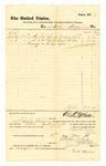 1878 May 1: Voucher, to Fred Meier; includes cost of making coffins; D.P. Upham, U.S. Marshal; Charles Burns, jailor; Stephen Wheeler, clerk