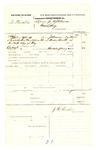 1878 May 20: Voucher, U.S. v. Sev Morallis, grand jury subpoena; includes cost of mileage; served by J.H. Mershon, U.S. deputy marshal