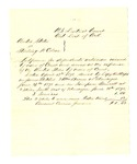 1878 June 28: Witness subpoena, U.S. v. Starling H. Colson; James Mitchel, William Brown, and Simpson Bennett, witnesses; served by Rutherford, U.S. deputy marshal