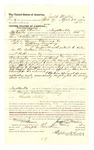 1878 May 2: Voucher, to Joseph Martin, of Fayetteville, Arkansas, for assisting H.C. Martine, U.S. deputy marshal, in U.S. v. George Downing and U.S. v. William Downing, assault with intent to kill in the Indian Country; C.M. Barnes, witness of signatures; Stephen Wheeler, clerk; E.B. Harrison, commissioner; D.P. Upham, U.S. marshal