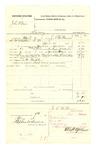 1878 May 09: Voucher, U.S. v. John Starr, larceny; includes cost of mileage, feeding one prisoner, and travel expenses; D.M. Murphy, posse comitatus; served by J.C. Wilkinson, U.S. deputy marshal; D.P. Upham, U.S. marshal; Stephen Wheeler, clerk