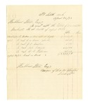 1878 April 30: Voucher, includes cost of bankruptcy payments; Hubbard Stone, assignee of D.A. McKibben; C.W. Binion, J.K. Banham, John Carmall, and G.C. Faloner