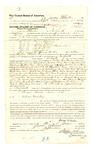 1878 June 13: Voucher, to James Wheeler, of Fort Smith, Arkansas, for assisting J.N. Mershon, U.S. deputy marshal, in U.S. v. George Thomas, U.S. v. James Brown, U.S. v. Cubby Colbert, and Buch Davis, U.S. v. Jack Rosier, U.S. v. Jim Jones, and U.S. v. McHenry Cobb and others; Stephen Wheeler, commissioner; D.P. Upham, U.S. marshal