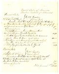 1878 June 26: Voucher, U.S. v. L.R. Bell and C.D. Gunter; includes cost of travel expenses; C.M. Barnes, U.S. deputy marshal; U.S. v. Stephen Cox, O.D. Punter, et.al; Stephen Wheeler, clerk