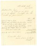 1878 June 30: Voucher, includes cost of bankruptcy payments; Hubbard Stone, assignee of D.A. McKibben; J.G.. Ebale, Stephen Wheeler