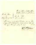 1878 July 11: Voucher, U.S. v. Mary Hewey et.al; served by J.R. Rutherford, U.S. deputy marshal; D.P. Upham, U.S. marshal