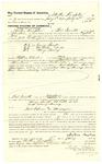 1878 July 16: Voucher, to Malton Knapton, of Fort Smith, Arkansas, for assisting J.R. Rutherford, U.S. deputy marshal, in U.S. v. George Geaft, U.S. v. Ed Cobb, et.al, and U.S. v. Mary Hewey; Stephen Wheeler, commissioner