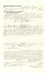 1878 July 25: Voucher, to Crawford Morris, of Fort Smith, Arkansas, for assisting Samuel Walters, U.S. deputy marshal, in U.S. v. One Frye, U.S. v. Ruth Sheppard, and U.S. v. Bob Steele; Stephen Wheeler, commissioner; D.P. Upham, U.S. marshal
