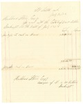 1878 July 31: Voucher, includes cost of bankruptcy payments; Hubbard Stone, assignee of D.A. McKibben