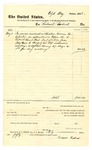 1878 August 27: Voucher, to Richard Robuck; includes cost of services as Choctaw Indian interpreter