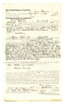 1878 September 18: Voucher, to Jerry Morrow, of Fort Smith, Arkansas, for assisting Jo Tinker, U.S. deputy marshal, in U.S. v. Johnson Peter, U.S. v. Thompson Miller, U.S. v. John Reardon et.al, U.S. v. Creek Jim, U.S. v. George Hudson, U.S. v. Brown M. Raw and Frank Brown, and U.S. v. James Johnson; Stephen Wheeler, commissioner; D.P. Upham, U.S. marshal