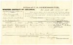 1878 September 24: Voucher, U.S. v. Tom Greenwood, assault with intent to kill; includes costs of per diem and mileage; Zack Cheadle and James Wheeler, witnesses; C.M. Barnes, witness to signature; D.P. Upham, U.S. marshal; James Brizzolara, commissioner