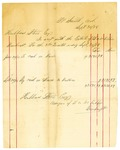 1878 September 30: Voucher, includes cost of bankruptcy payments; Hubbard Stone, assignee of D.A. McKibben