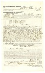 1878 October 30: Voucher, to Claude Cox, of Fort Smith, Arkansas, for assisting J.C. Wilkinson, U.S. deputy marshal, in U.S. v. Edward Brown, U.S. v. Captain Harrison, and U.S. v. Walter Bigley; Stephen Wheeler and James Brizzolara, commissioner; D.P. Upham, U.S. marshal
