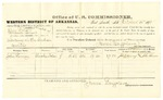 1878 October 14: Voucher, U.S. v. John Brown and Edmund Brown, larceny in the Indian Country; includes cost of per diem and mileage; John Kinney, witness; John Paterson, witness of signature; D.P. Upham, U.S. marshal; James Brizzolara, commissioner