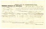 1878 October 19: Voucher, U.S. v. Solomon McCoy, larceny; includes cost of per diem and mileage; Joseph M. Franklin and M.C. Shelly, witnesses; D.P. Upham, U.S. marshal; Stephen Wheeler, commissioner
