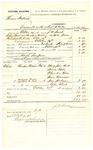 1878 October 21: Voucher, U.S. v. Thomas Ballard, assault with intent to kill; includes cost of per diem and mileage; Mary J. Reed, Jane Jordon, Louisa Phipps, Columbus Phipps, and James Branhan, witnesses; John Paterson, witness of signatures; Hugh Simpson, posse comitatus; D.P. Upham, U.S. marshal; Stephen Wheeler, commissioner; William H.H. Clayton, U.S. attorney