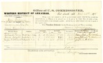 1878 October 23: Voucher, U.S. v. One Sidney (alias Sidney Helix), larceny in the Indian Country; includes cost of per diem and mileage; Hilliard Perry, James Nelson, Joseph D. McClure, witnesses; C.M. Barnes, witness of signatures; D.P. Upham, U.S. marshal; James Brizzolara, commissioner
