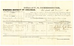 1878 October 28: Voucher, U.S. v. John Shannen, assault with intent to kill in the Indian Country; includes cost of per diem and mileage; Charles Devoto, James Wheeler, Alonzo Hays, and T.J. Marning, witnesses; John Paterson, witness of signature; D.P. Upham, U.S. marshal; James Brizzolara, commissioner