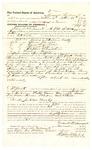 1878 November 04: Voucher, to Frank Belmout, of Arkansas, for assisting G.H. Kyle, U.S. deputy marshal, in U.S. v. James Anderson, U.S. v. Aaron McMill, U.S. v. Sam Fivekiller, U.S. v. Thomas Raper, U.S. v. Stephen Blanchin, and U.S. v. Wesley House; Stephen Wheeler, commissioner; D.P. Upham, U.S. marshal