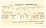 1878 October 31: Voucher, U.S. v. Stephen Blackhawk, larceny; includes cost of per diem and mileage; Andrew McGee, James McGee, Maria McGee, and Irving McGee, witnesses; D.P. Upham, U.S. marshal; Stephen Wheeler, commissioner