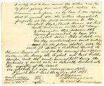 1878 December 23: Partial certification, discusses 73 bottles of distilled liquor; Charles Burns; D.P. Upham, U.S. marshal; C.M. Barnes, U.S. deputy marshal; Stephen Wheeler, clerk