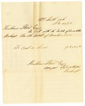 1878 November 30: Voucher; includes cost of bankruptcy payment; Hubbard Stone, assignee of D.A. McKibben