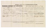 1879 March 12: Voucher, U.S. v. Peter J. Peterson, introducing spirituous liquors into Indian Country; includes cost of per diem and mileage; Lorena D. Spears and Stephen Spears, witnesses; John Paterson, witness of signature; D.P. Upham, U.S. marshal; Stephen Wheeler, commissioner