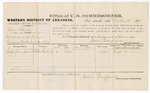 1879 March 13: Voucher, U.S. v. John Fields, introducing spirituous liquors in the Indian Country; includes cost of per diem and mileage; Hugh Simpson, witness; D.P. Upham, U.S. marshal; James Brizzolara, commissioner