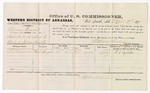 1879 April 02: Voucher, U.S. v. Marcus Thruwik, assault with intent to kill; includes cost of per diem and mileage; S.L. Reynolds, witness; D.P. Upham, U.S. marshal; Stephen Wheeler, commissioner