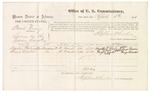 1879 April 8: Voucher, U.S. v. Basil Craig, larceny in the Indian Country; includes cost of per diem and mileage; Aquillar Fleetwood and George Meeks, witnesses; George S. Winston, witness of signatures; D.P. Upham, U.S. marshal; Stephen Wheeler, commissioner