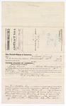 1879 November 07: Voucher, to Isaac Lewis, of Rocky Comfort, Arkansas, for assisting Samuel Walkers, U.S. deputy marshal, in U.S. v. Charlotte Burton; Z.L. Cotton, commissioner; George S. Winston, witness of signatures; Stephen Wheeler, clerk; D.P. Upham, U.S. marshal
