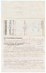 1879 November 01: Voucher, to Claude Cox, of Fort Smith, Arkansas, for assisting J.C. Wilkinson, U.S. deputy marshal, in U.S. v. Powa Logan, Richard Hansley, Johnson Baldridge, and One Sking, larceny, and U.S. v. One Woodleg, Albert Curleyhead, Joshua Wilson, George Minney, John Teehee, and Catche Teehee, violation of internal revenue laws; Stephen Wheeler, commissioner; D.P. Upham, U.S. marshal