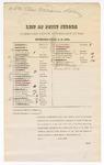 1879 November 11: Petit jury summons, U.S. v. Charles Williams, larceny in the Indian Country; Henry Atkinson (line through name), James E. Brietz (line through name), Benjamin Brent (line through name), John H. Blackwell, Robert Boydston (line through name), Ernest Beck (line through name), Charles Bracht (line through name), Eli G. Collier (line through name), George W.L. Cox (line through name), Coston W. Conrad (line through name), Rolin Crawford (line through name), John Carnall (line through name), Patrick T. Devany, John S. Douglas (line through name), Charles T. Dotson (line through name), Isaac Davis (line through name), William A. Farmer (line through name), Thomas J. Hamnett (line through name), Hezekiah Highfill (line through name), Samuel Holleman, Elijah B. Jones (line through name), Joseph N. Lively, John T. Milsap, Benjamin D. McWhorter, John T. Perry (line through name), Pleasant M. Phillips, William J. Peevyhouse, William F. Patton (line through name), Charles B. Sisker, William B. Sutton (line through name), Martin Stetzel (line through name), Joseph F. Stokes (line through name), Robert M. Stephens (line through name), George N. Spradling, Byron J.M. Trotter, Henry Turner (line through name), Benjamin Vaughan Sr, Peter Bruder (line through name), and George W.L. Cox, jurors; Stephen Wheeler, clerk