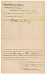1880 February 18: Jury venire facias, writ for summoning new jury; Nathaniel Spring, summoned; Stephen Wheeler, clerk; Isaac C. Parker, judge