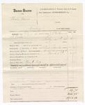 1880 March 02: Voucher, U.S. v. Charles Morris, larceny; includes cost of mileage, feeding one prisoner, and committing to jail; Claud Cox, posse comitatus; J.C. Wilkinson, U.S. deputy marshal; Stephen Wheeler, commissioner