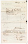 1880 March 2: Voucher, to Daniel Harrison; includes cost for services rendered as bailiff in attendance in the U.S. district court; D.P. Upham, U.S. marshal; Stephen Wheeler, clerk; John Paterson, witness of signatures