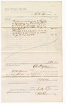 1880 February 28: Voucher, to C.M. Barnes; includes cost for services rendered as bailiff in attendance of U.S. district court; D.P. Upham, U.S. marshal