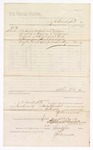 1880 April 1: Voucher, to J.E. Bennett, M.D.; includes cost of services rendered and medicine furnished as physician to U.S. prisoners; Stephen Wheeler, clerk