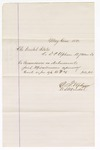 1880 May 1: Voucher, to D.P. Upham, U.S. marshal; includes cost for commissions on disbursements paid