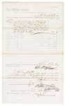 1880 June 1: Voucher, to J.E. Bennett, M.D.; includes cost for services rendered and medicine furnished as physician to U.S. prisoners confined in U.S. jail; D.P. Upham, U.S. marshal; Stephen Wheeler and G.S. Williams, clerk