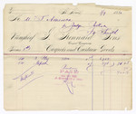 1880 August 30: Voucher, to J. Kennard and Sons; includes cost of paper and other products; Judge Parker; V. Dell, U.S. marshal