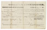 1880 August 18: Voucher, U.S. v. Charles Roberts and Monday Roberts, larceny in the Indian Country; includes cost of per diem and mileage; William Silberberg and Aaron Silberberg, witnesses; V. Dell, U.S. marshal; James Brizzolara, commissioner