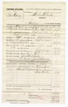 1880 October 5: Voucher, U.S. v. Isom Carney, larceny in the Indian Country; includes cost of per diem, mileage, and feeding one prisoner; James B. Bailey, posse comitatus; James Brooks, guard; Wilson Nail, Dan Grayson, and Little Willis, witnesses; F.R. Barling, U.S. deputy marshal; Stephen Wheeler, commissioner