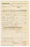 1880 October 12: Partial Voucher, U.S. v. Polly Andrews, retail liquor dealer in the Indian Country; includes cost of warrant, mileage, and feeding prisoner; J.M. Weir, posse comitatus; Ed Riley, guard; C.E. Riley, J.C. Weir, and John Boston, witnesses; F.R. Bowling, U.S. deputy marshal; James Brizzolara, commissioner