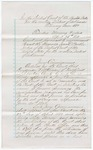 1881 April 26: Letter, explaining the selection of jury commissioner, Benjamin F. Atkinson, of Fort Smith, Arkansas; Stephen Wheeler and G.S. Williams, clerks